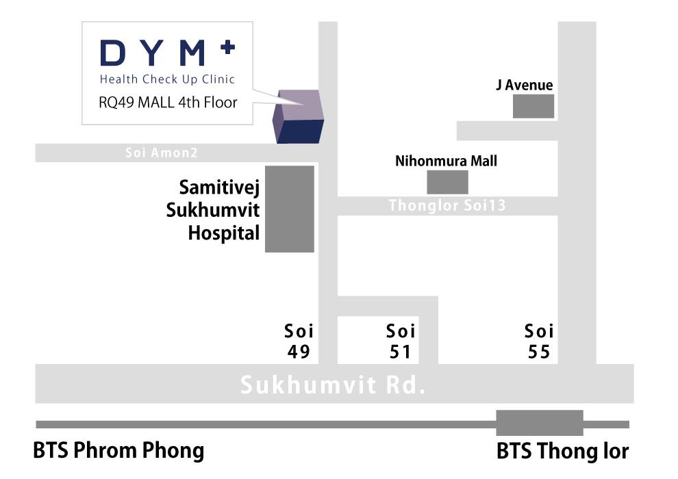 DYM Health Check Up Clinic Map